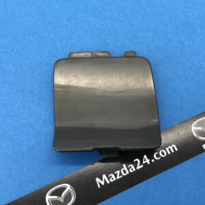 B63B50EK1BB, BANE50EK1BB – Mazda BN (2016-2018) hatchback rear bumper tow hook cover right