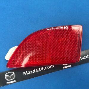 BCW8515M0B - Rear bumper reflector left for Mazda 3 BM hatchback (2013-2016)