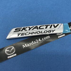 BHN151771 - Mazda 3 sedan (2013-2018) SKYACTIV trunk lid badge