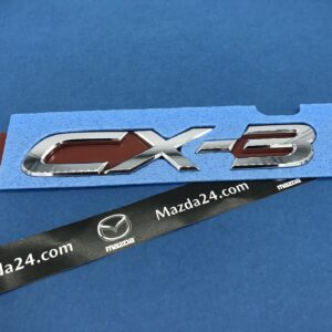 D10J51721 - Mazda CX-3 trunk lid badge (model name)