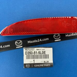 D350515L0E - Rear bumper reflector left Mazda 3, 6