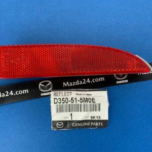 D350515M0E - Rear bumper reflector right Mazda 3, 6