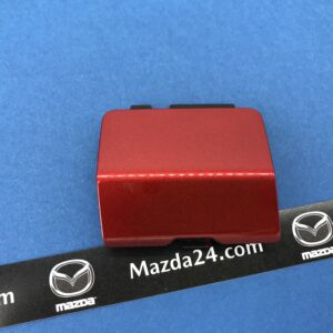 MAZDA 6 (2012-2017) right rear tow hook Soul red (41V)