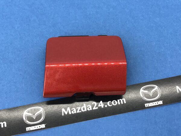 MAZDA 6 (2012-2017) left rear tow hook Soul red (41V)
