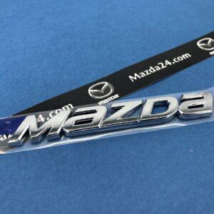"GBEF51711 - Mazda 6 (2018-2021) trunk lid ""MAZDA"" nameplate emblem"