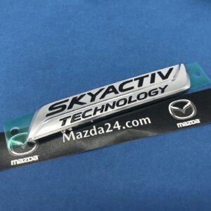 GBFN51771 - Mazda 6 (2018-2021) sedan SKYACTIV trunk lid badge