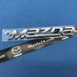 "GHK151711 - Mazda 6 (2013-2017) trunk lid ""MAZDA"" nameplate emblem"