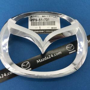 Original front grille emblem Mazda 6 (GJ/GL, 2012-2017) without LED