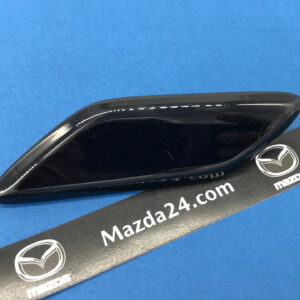 GMM1518H151 - Headlight washer cover left Mazda 6 (2015-2017). Color: black (Jet Black, 41W)