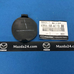 KB8A50A11BBB - Front Bumper Tow Hook Eye Hole Cover Cap Mazda CX-5