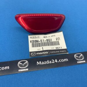 Original headlight washer cover right red (46V) for Mazda CX-5 KF (2017-