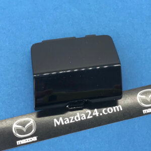 G4YL50EL151 - MAZDA 6 rear bumper tow hook cover left (black, 41W)