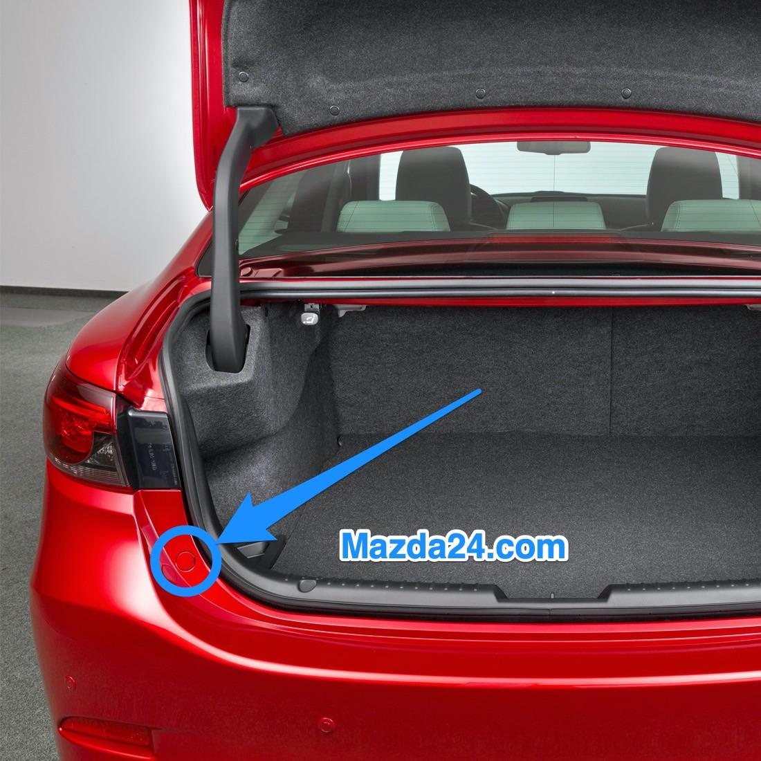 Mazda 3 BP (2019-2021) rear bumper bolt caps